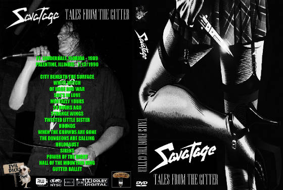 Savatage Live Dvd S
